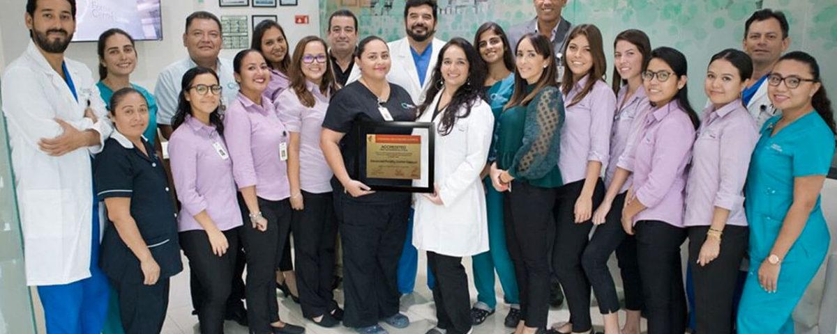 Clinica de fertilidad certificada en Mexico
