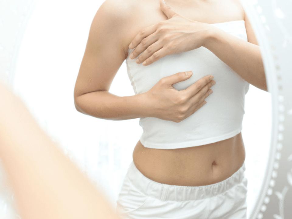 Auto examen mamario